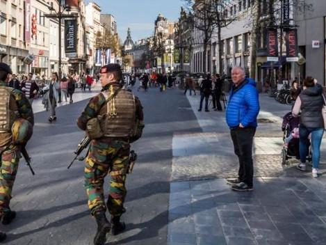 Man held for 'driving at crowd' in Antwerp, Belgium