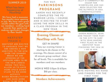 NextStep Newsletter Summer 2019 | Issue 02