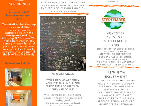 NextStep Newsletter Spring 2019 | Issue 01