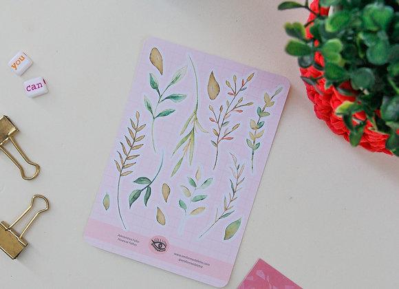 Florescer - Folhas