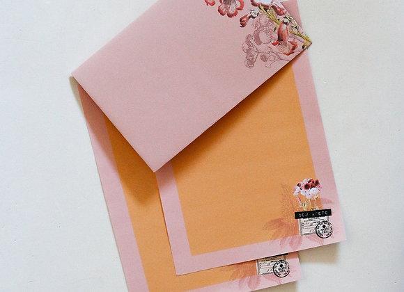 Papers & Flowers - Kit Cartas