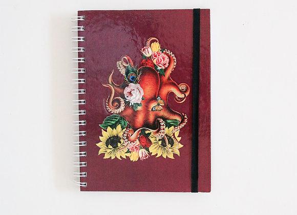 Caderno Polvo Florido