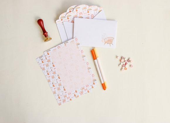 Meu momento - Kit Cartas + cartela de adesivo
