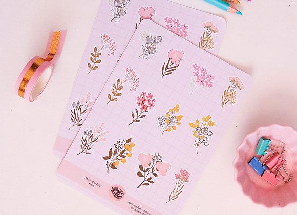 Flores - Adesivos