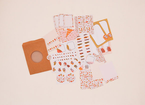 Kit de adesivos e papéis - Granilite