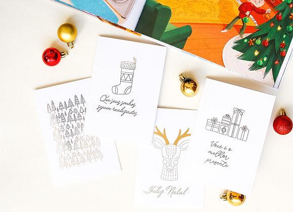 Kit Cartões Então é Natal