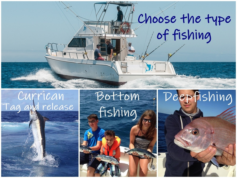 Different types of fishing