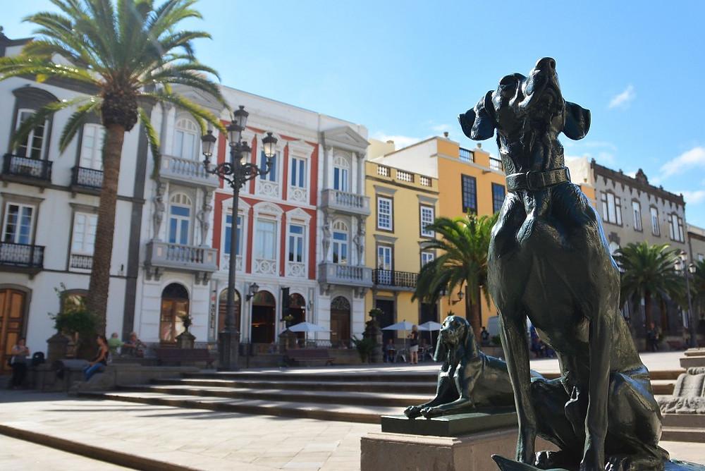 Plaza de Santa Ana. Gran Canaria