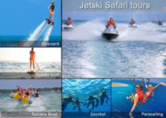 Water Sport Activities Combo