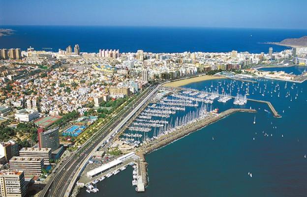 Puerto deportivo de Las Palmas de Gran Canaria