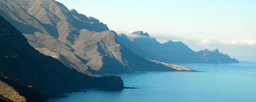 Acantilados del suroeste. Gran Canaria