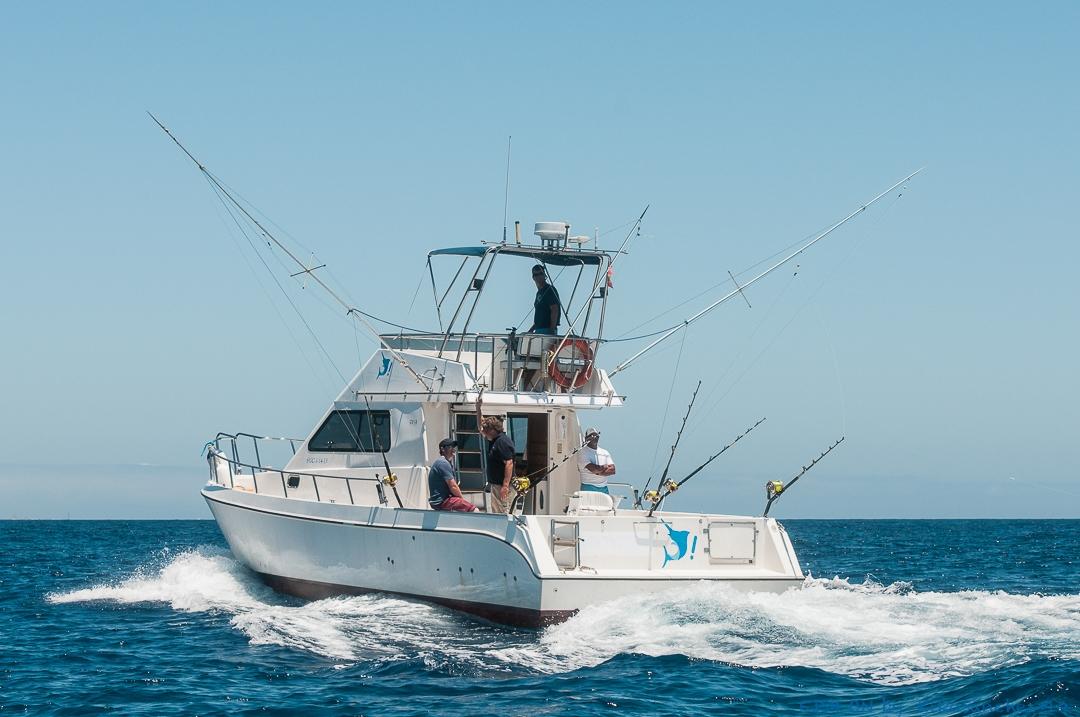Fishing boat 8 pax+crew