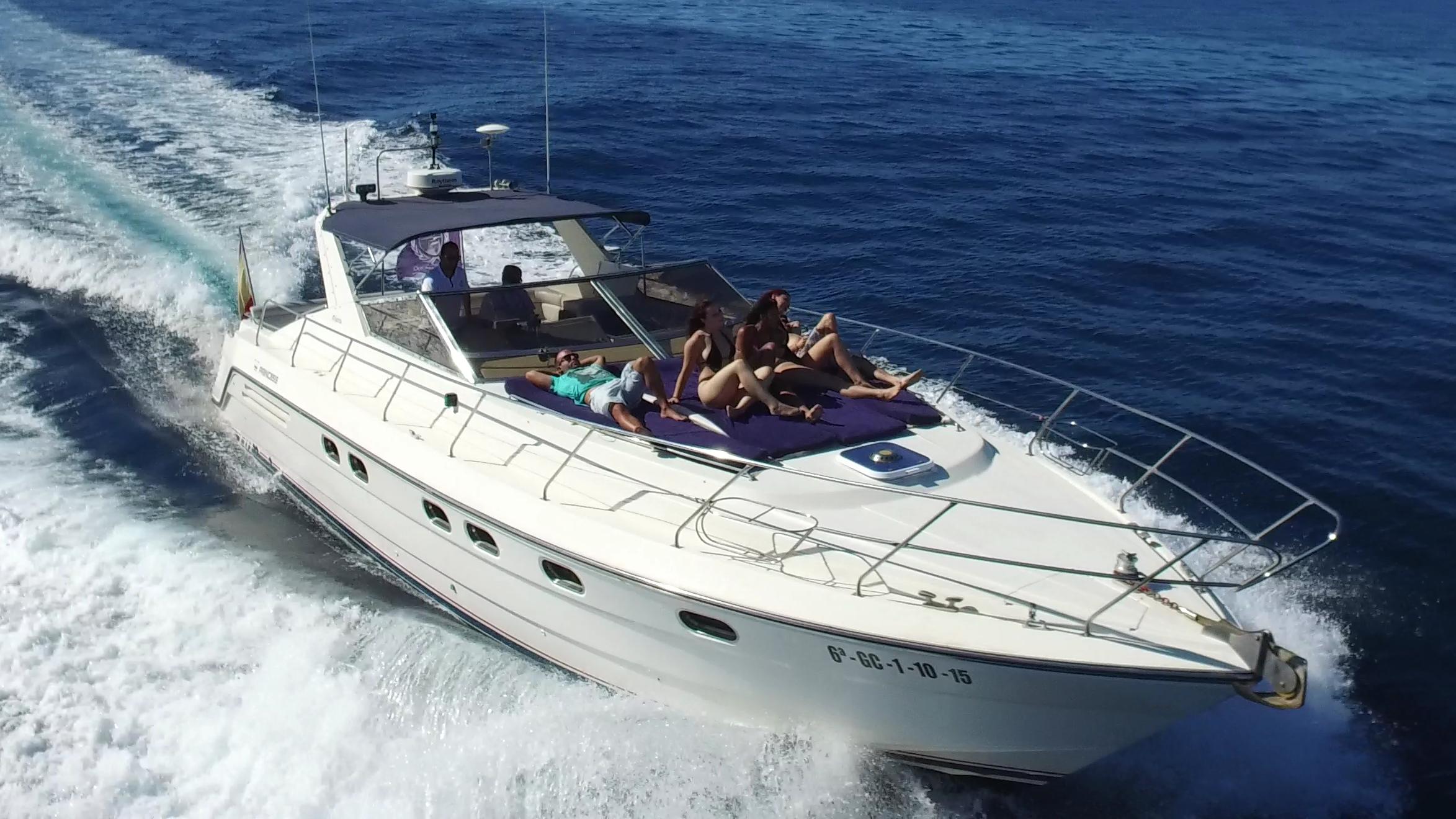 M/Y Princess Riviera 10 pax+crew