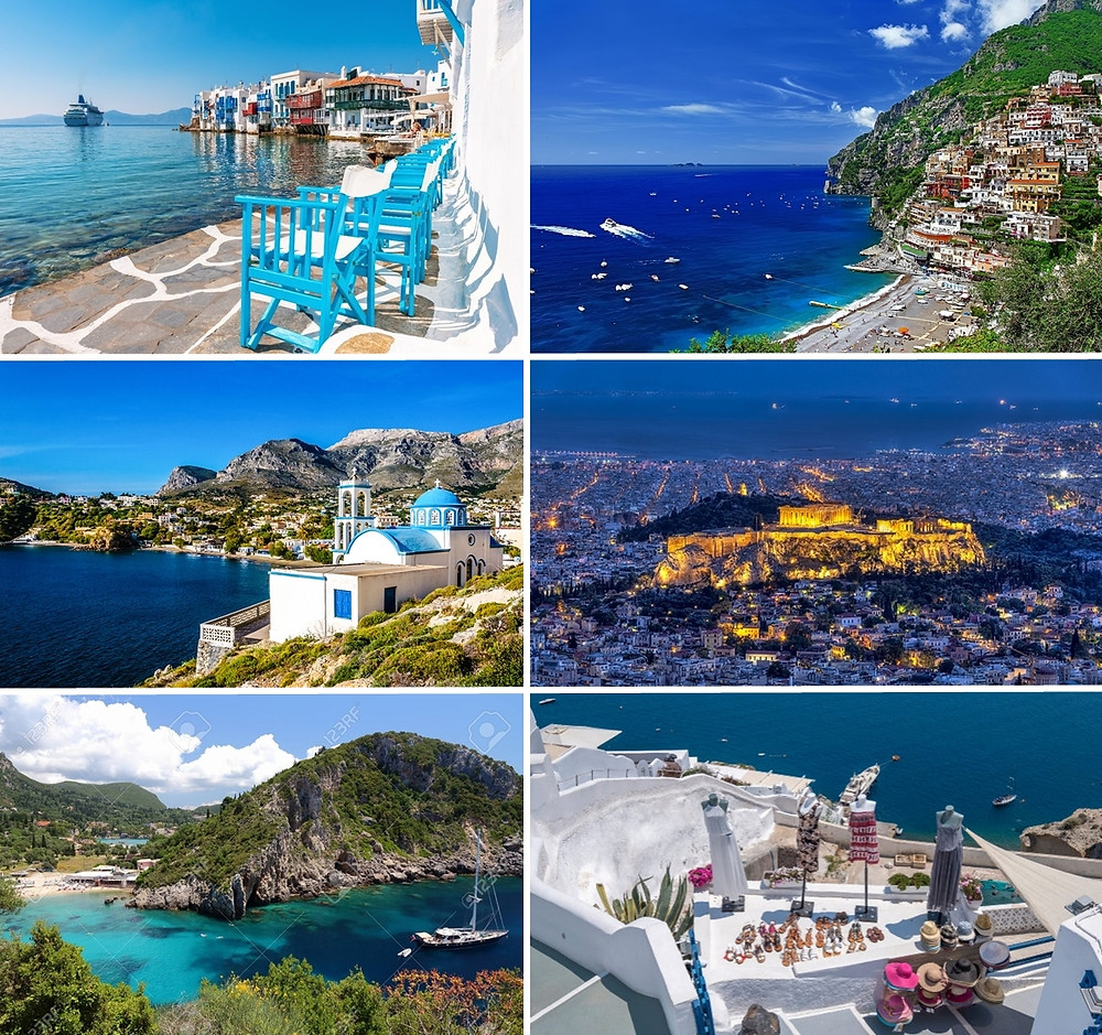 Discover Greece from the sea