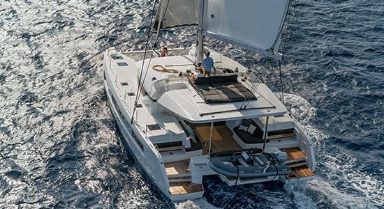Catamarans in Greece with Ocean Charter Club