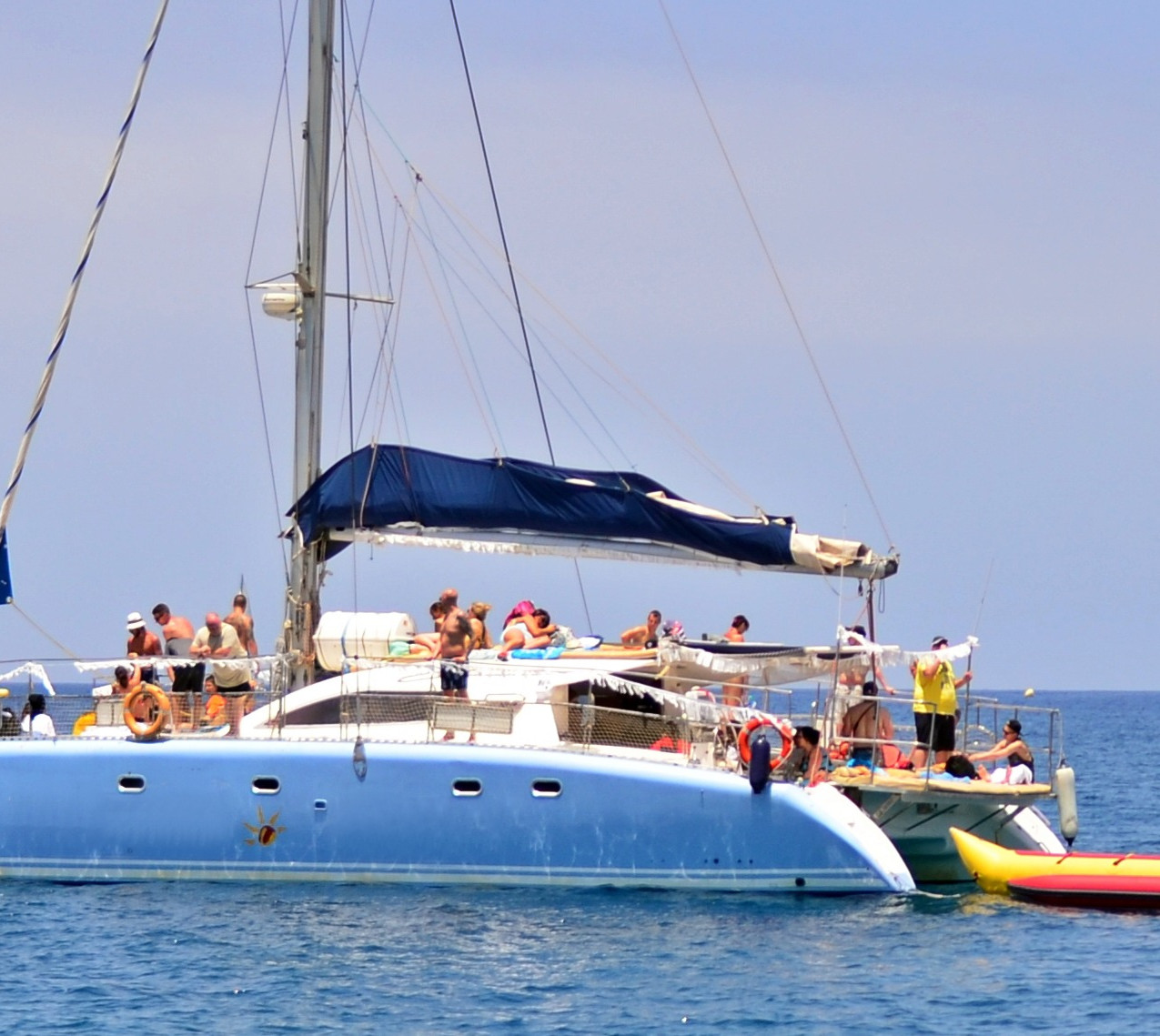 Catamaran pasaje, Max 50 pax