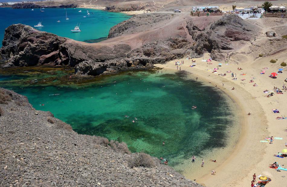 Playa de Papagayo. Lanzarote