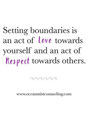 Signs of Healthy Boundaries