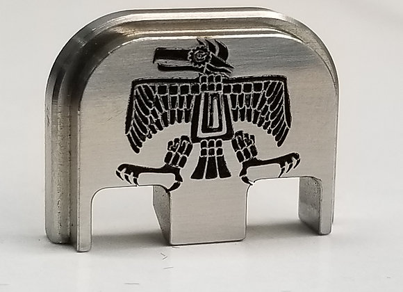 Stainless Steel Aztec Eagle