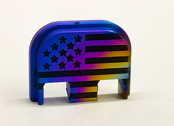 Titanium American Flag
