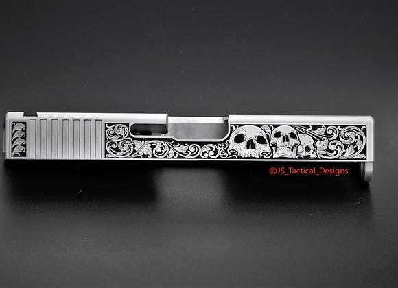 Skull Floral Slide gen 3 19