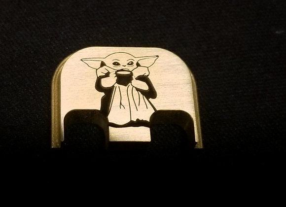 Brass Baby Yoda