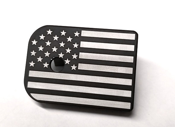 American Flag Black and White