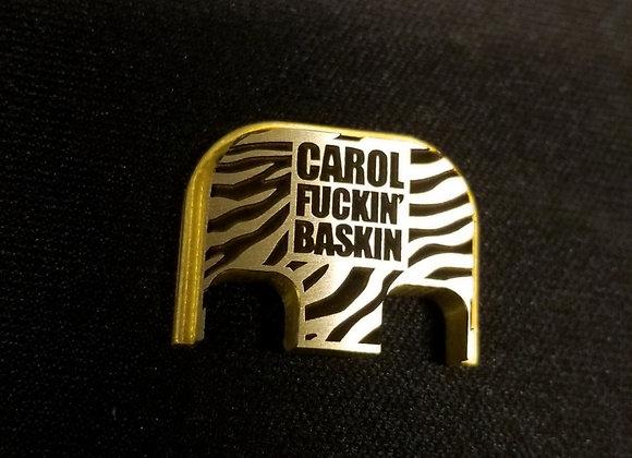 Carol Baskin Plate