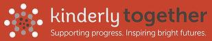 Kinderly Together Logo strap L on Orange