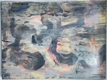 """Meditation"" | 30'x40' | acrylic on canvas"