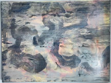 """Meditation""   30'x40'   acrylic on canvas"
