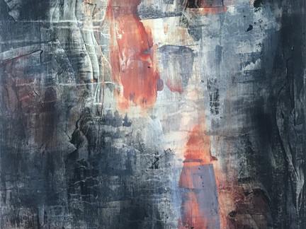 """Portals""   2'x3' acrylic on canvas"