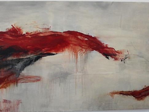 """Brash"" | 30""x48"" acrylic on canvas"