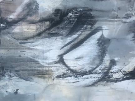 """""""As I drift""""   3'x4' acrylic on canvas"""