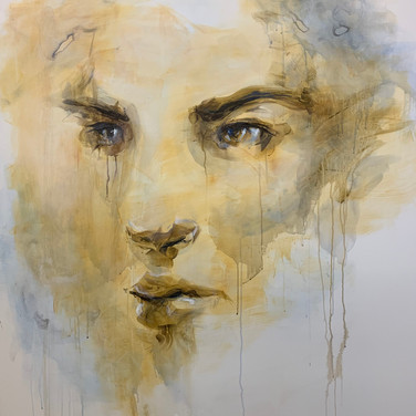 """Fleeting Intensity"" | 4'x5' acrylic on canvas"