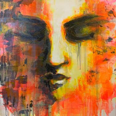 """Feverdream"" | 36""x48"" acrylic on canvas"
