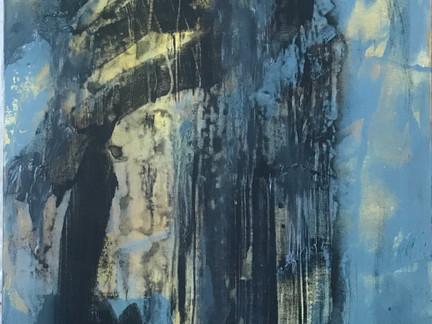 """Moderation""   2'x4'   acrylic on canvas"