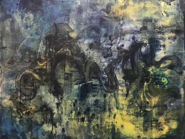 """Urban renewal"" | 5'x4' acrylic on canvas"