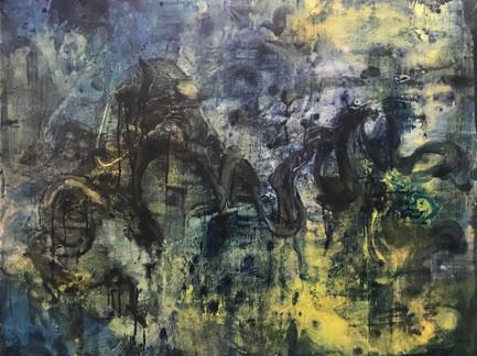"""Urban renewal""   5'x4' acrylic on canvas"