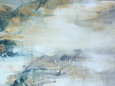 """Reflection"" | 30""x48"" acrylic on canvas"