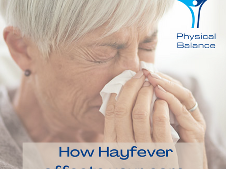 Earwax and Hayfever