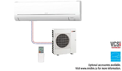 Good Air Ventilation Systems Mitsubishi Ductless Heat pump GE Series