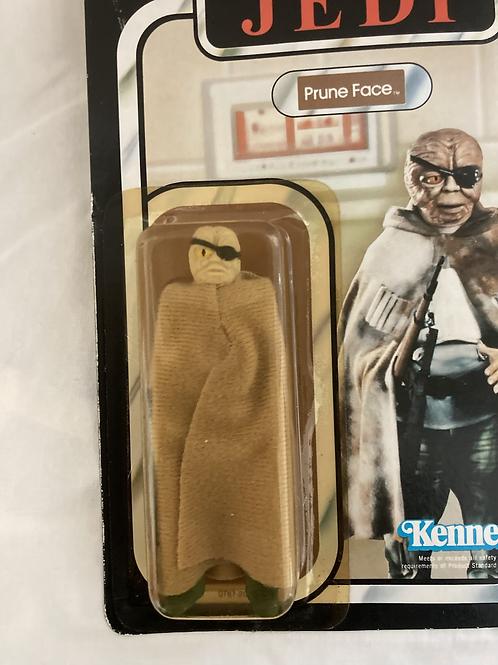Vintage Star Wars Return Of The Jedi Prune Face Yellow Eye Kenner 1983