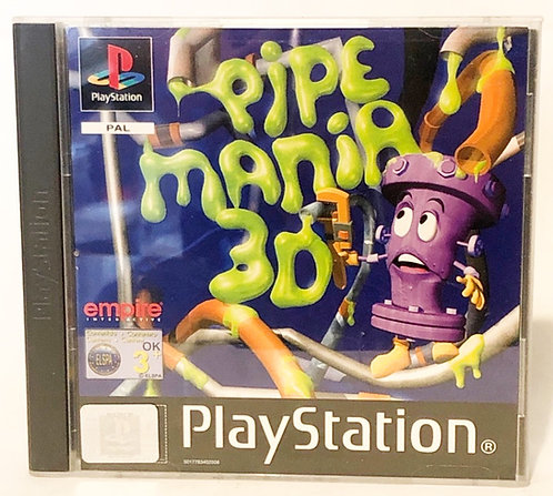 Pipe Mania 3D PlayStation Game U.K. (PAL)