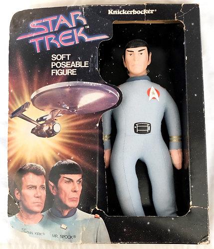 Star Trek Soft Poseable Figure Knickerbocker 1979