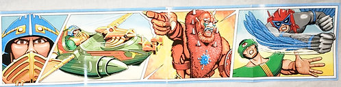 He-man And The Masters Of The Universe Vintage Poster 1983