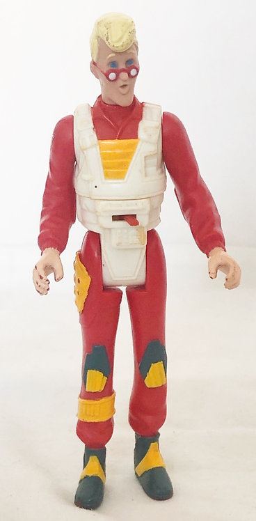 The Real Ghostbuster Egon Spengler Squidsqueal Ghost Kenner  1986