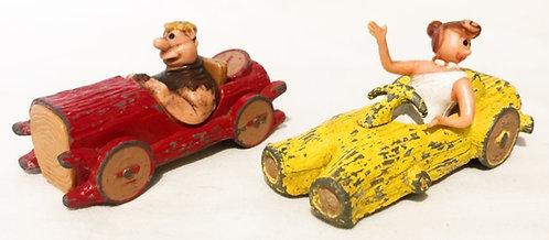 Flintstones Die-Cast Car Set Corgi 1982