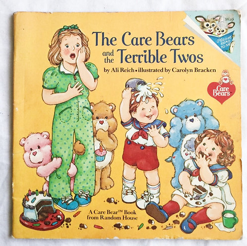 Care Bear's The Care Bears And The Terrible Twos Book 1983