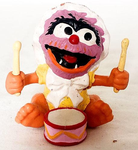 Vintage Muppet Babies Animal PVC 1985